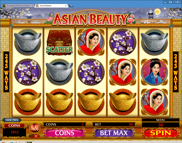 Asian Beauty Bonus Slot BlackJack Ballroom