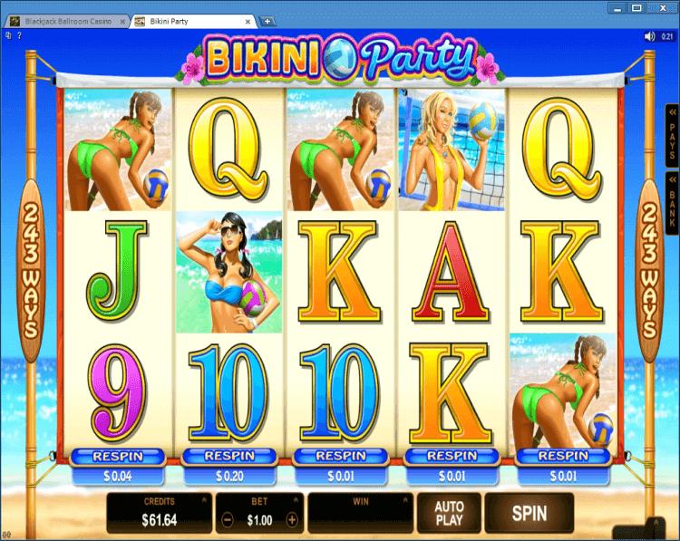 Bikini Party regular video slot online casino