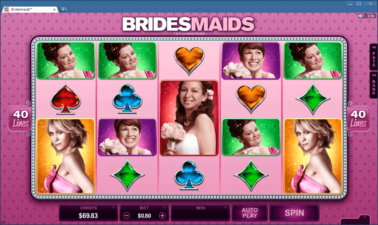 Bridesmaids bonus slot Ballroom online casino