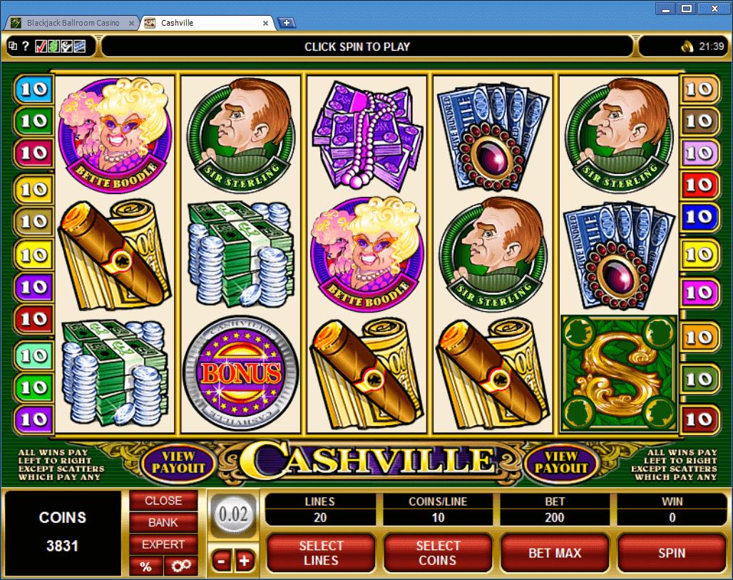 казино cash онлайн slot