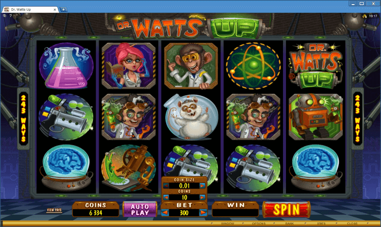 Dr Watts Up BlackJack Ballroom online casino app
