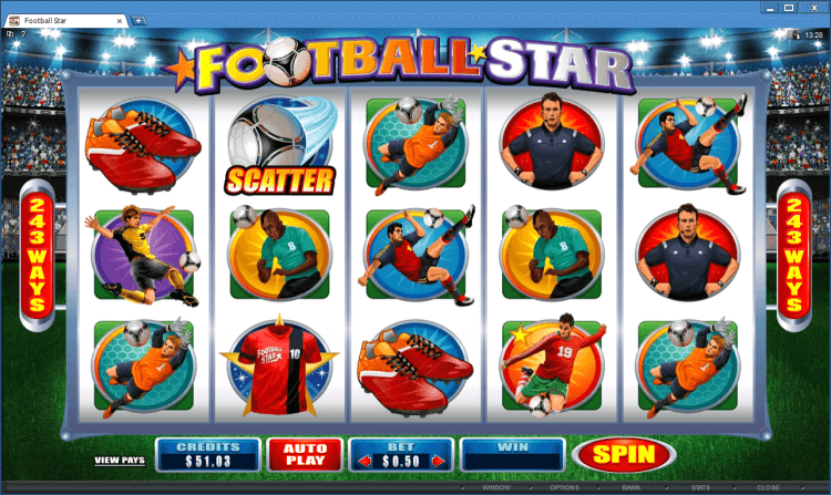 Football Star bonus slot online casino app BlackJack Ballroom
