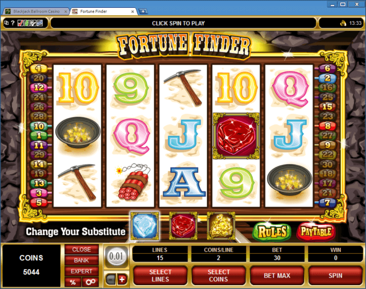 Fortune Finder regular video slot Ballroom BlackJack online casino app