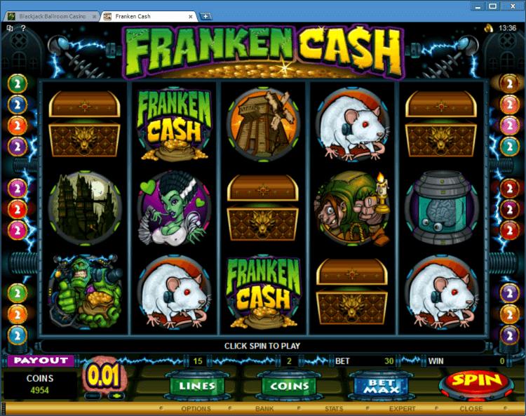 Fraken Cash bonus slot BlackJack Ballroom online casino app