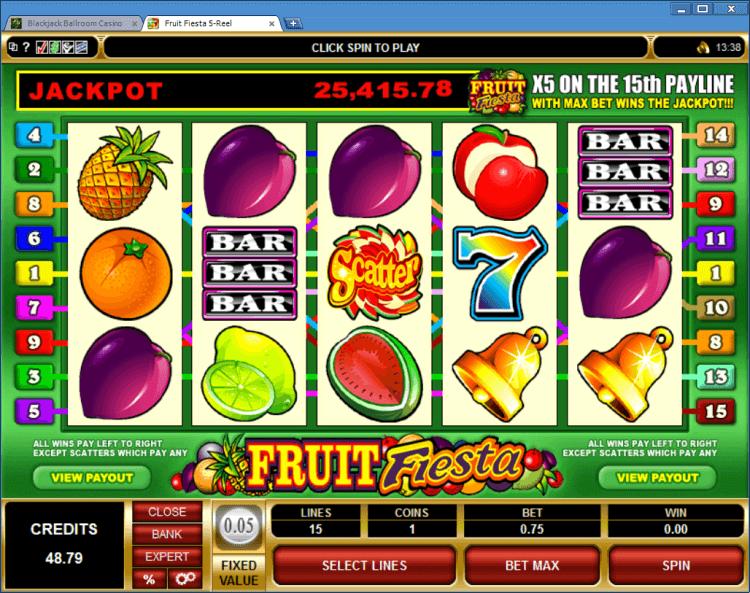 Fruit Fiesta progressive slot BlackJack Ballroom online casino app