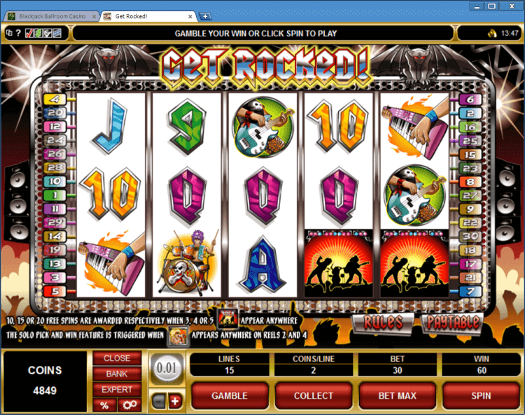 online casino blackjack deluxe slot