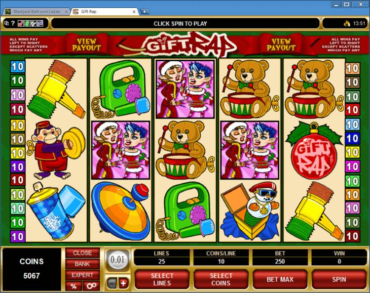 Gift Rap bonus slot BlackJack Ballroom online casino app