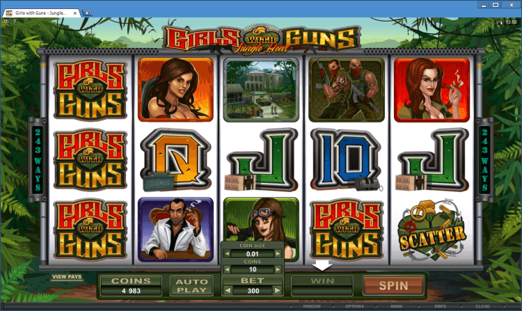 Girls with Guns – Jungle Heat bonus slot BlackJack Ballroom online casino app