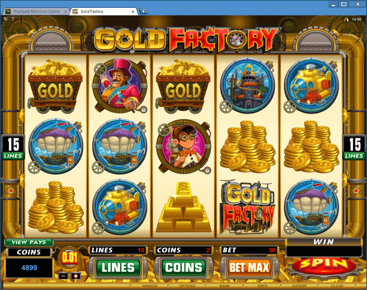 Gold Factory bonus slot BlackJack Ballroom online casino app