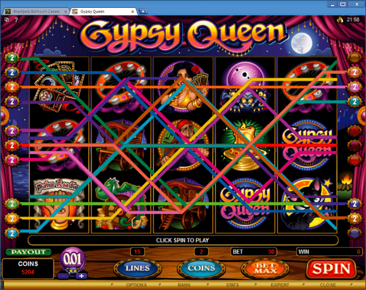 Gypsy Queen bonus slot online casino app BlackJack Ballroom