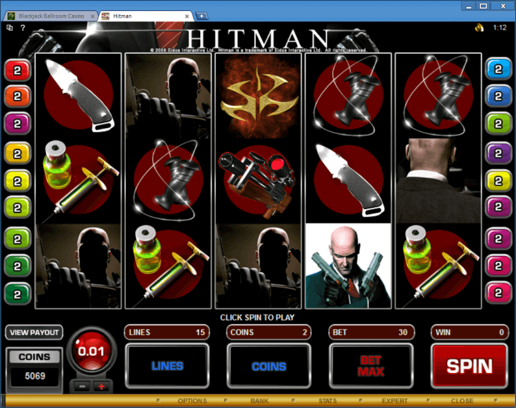 Hitman bonus slot BlackJack Ballroom online casino app