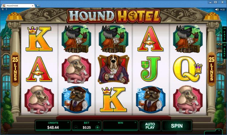 Hound Hotel bonus slot BlackJack Ballroom online casino app