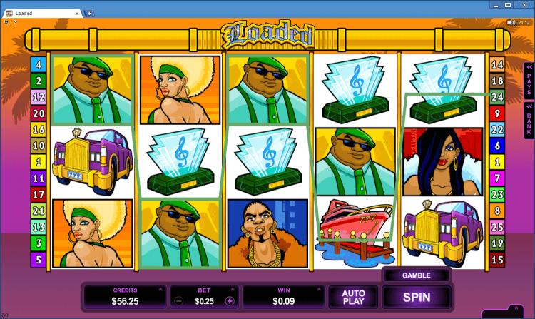 Loaded bonus game BlackJack Ballroom online casino gambling