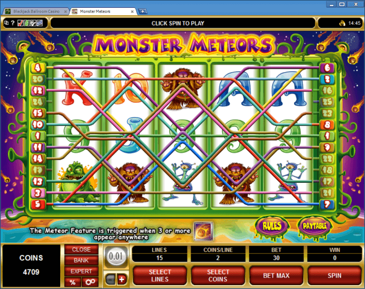 Monster blackjack