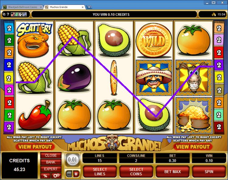 Muchos Grande bonus slot BlackJack Ballroom online gambling casino