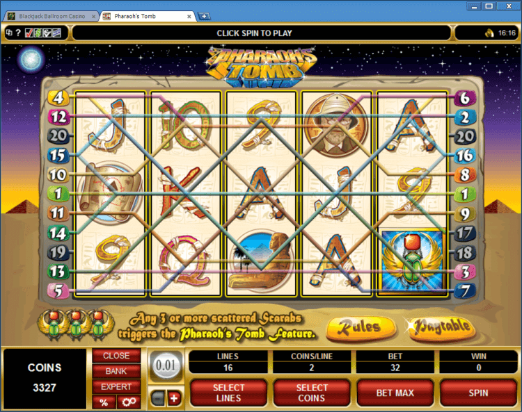 online casino blackjack pharaoh s