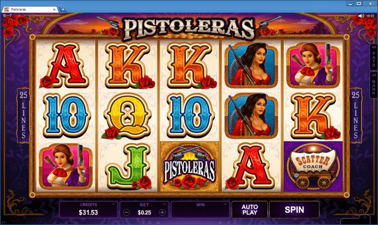 Pistoleras bonus slot BlackJack Ballroom online casino gambling