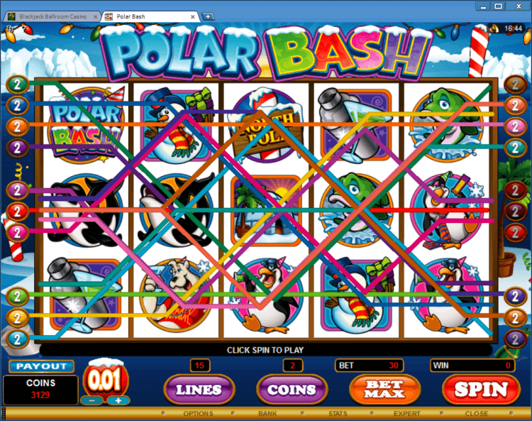 Polar Bash bonus slot BlackJack Ballroom online casino gamble