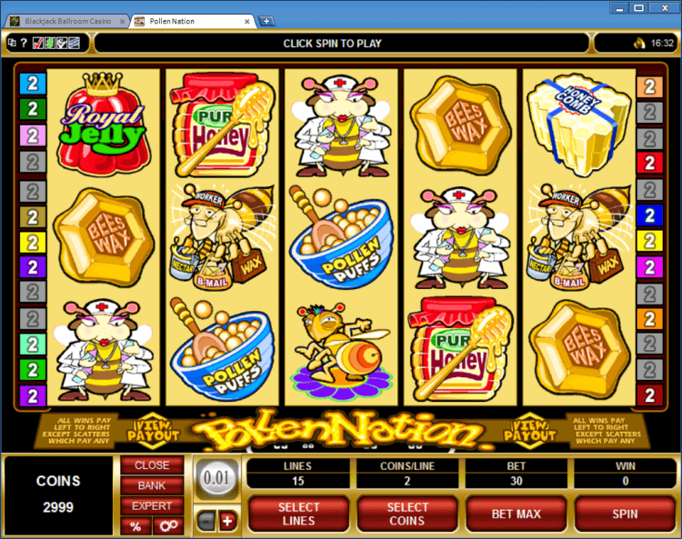 Pollen Nation bonus slot BlackJack Ballroom online casino gambling