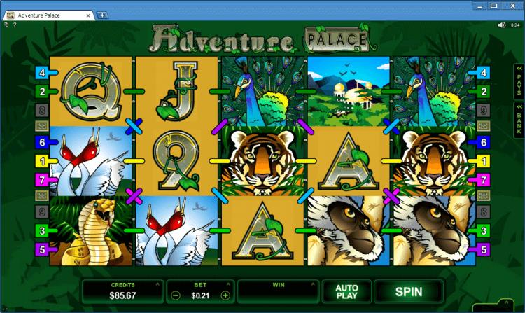Slot Adventure Palace Ballroom casino