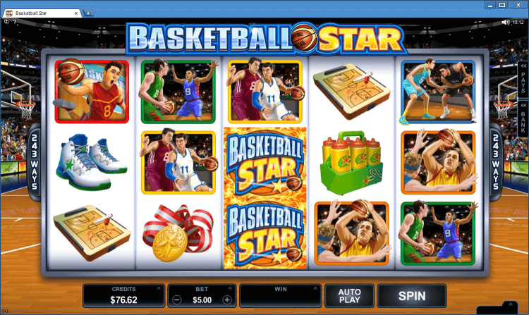 Slot Basketball Star online casino Ballroom application